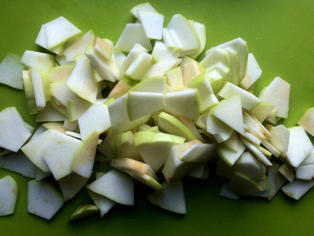 Polish apples cut - Antonówka